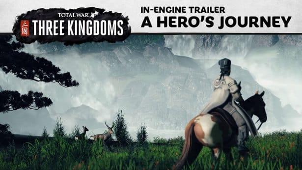 Total War three kingdoms new cinematic windows linux games mac windows