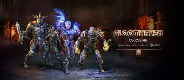 gloomhaven tactical rpg has a release date in linux windows pc games