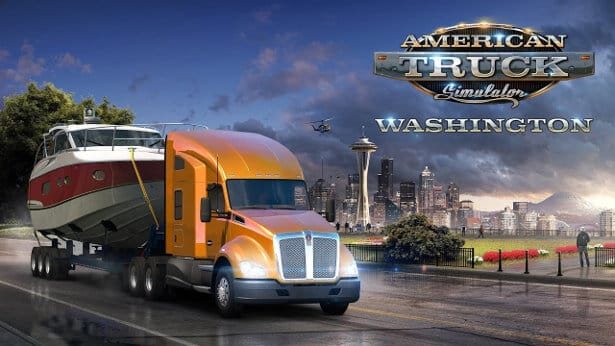 washington debuts in american truck simulator with forest machinery in linux mac windows pc games