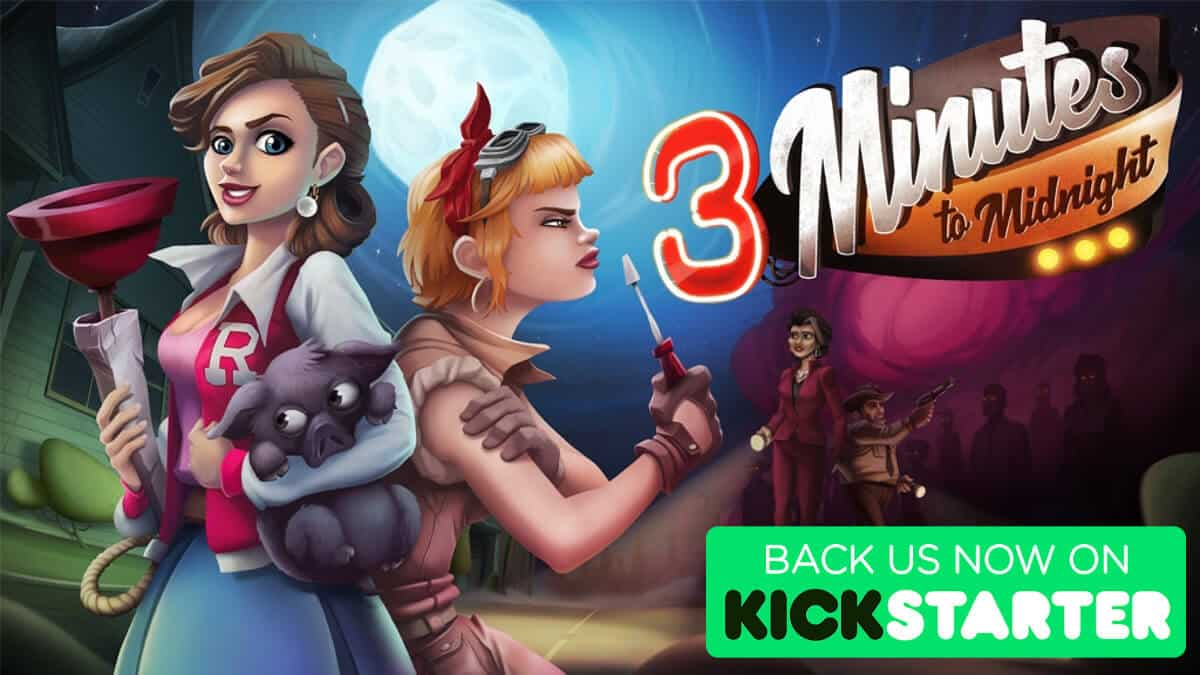 3 minutes to midnight brings point and click comedy to kickstarter for linux mac windows pc