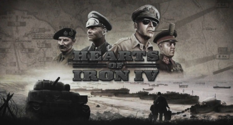 Hearts of Iron IV + DLC's [Linux]