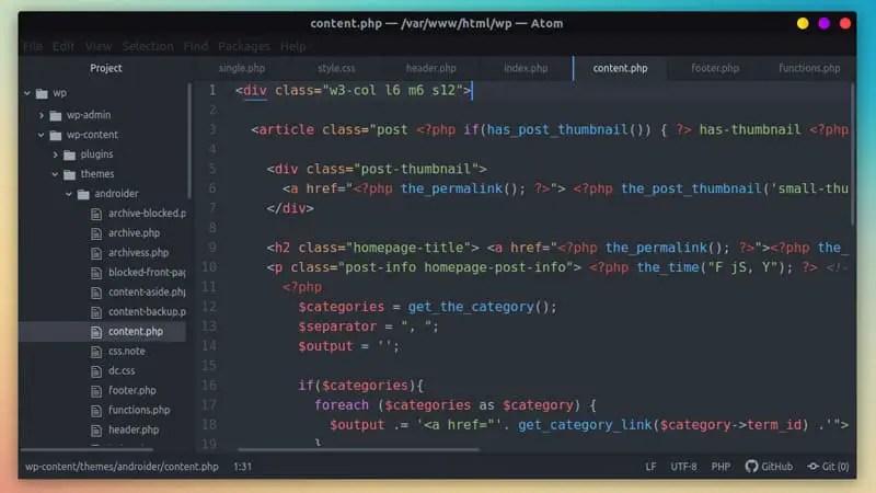 Atom - linuxh2o.com
