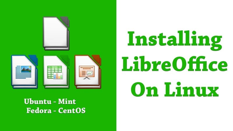 How to install libreOffice On linux