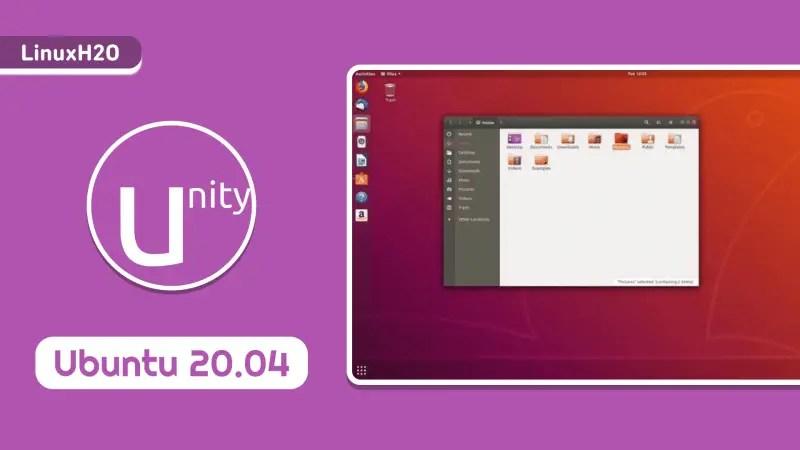 Install Unity desktop on Ubuntu 20.04