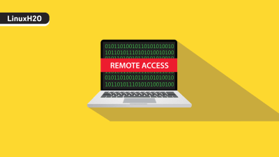 Remote access with anydesk