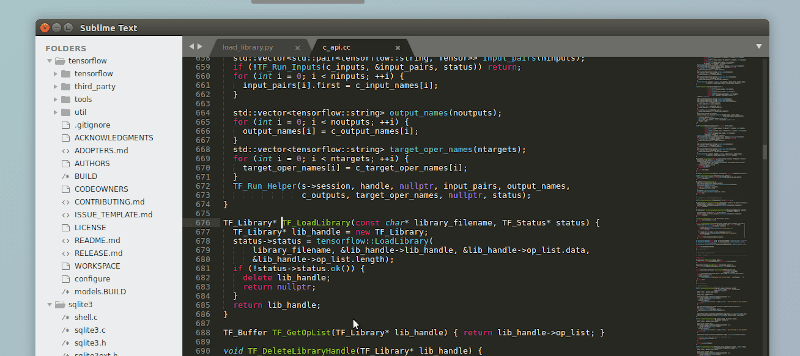Running sublime text