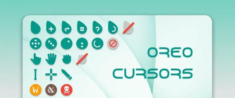 Oreo icon theme for Linux
