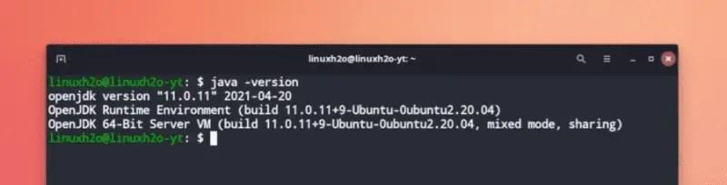 Checking JDK version
