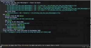 broot screenshot in my media directory