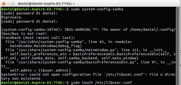 System-Config-Samba