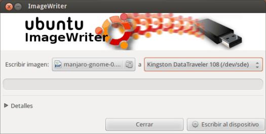 ImageWriter para Ubuntu