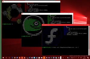 Linux Multi-Distro in Windows
