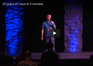 Twenty Five Years of Linux Video