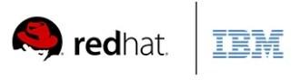 redhat IBM logos