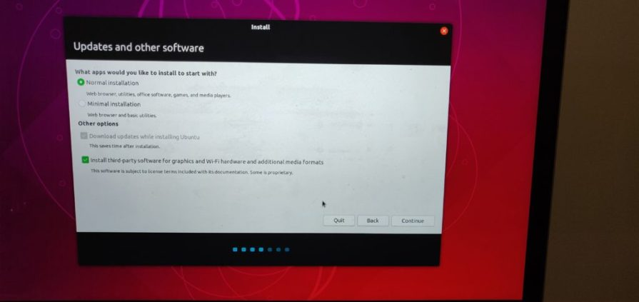 ubuntu 18.10 - Select third party software