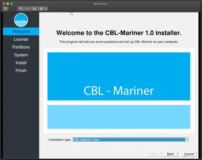 cbl mariner welcome screenn