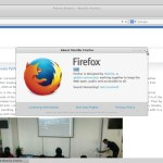 Fedora 21 MATE Compiz - Firefox Web Browser