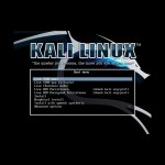 Kali Linux 1.1.0 - Boot Loader