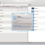 Fedora 21 KDE - Dolphin File Manager