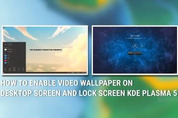 Enable Video Wallpaper on Desktop Screen and Lock Screen in KDE Plasma 5
