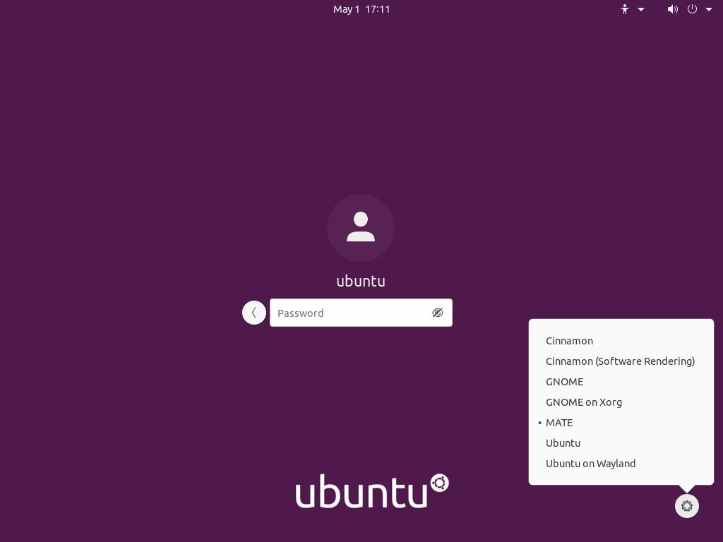 desktop environment delection