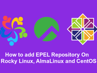 How to add EPEL repository on Rocky Linux, AlmaLinux and CentOS