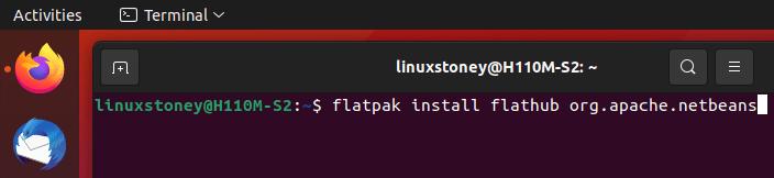 install netbeans using flatpak