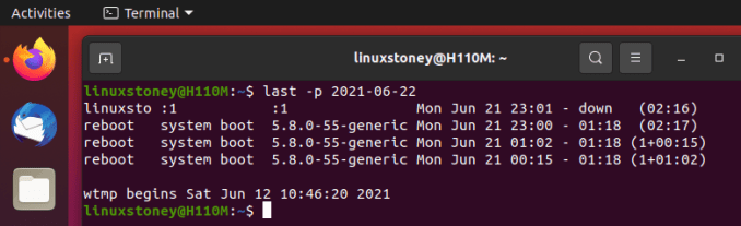 Tutorial on Using the Last Command in Linux Terminal