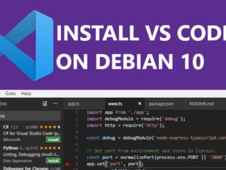 install-visual-studio-code-on-debian-10