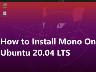 Install Mono on Ubuntu 20.04 LTS