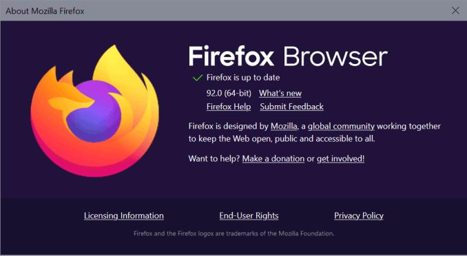 firefox 92