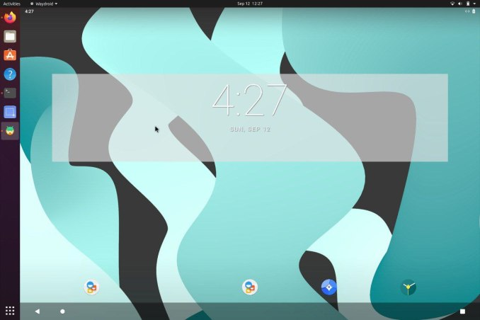 The Waydroid project develops a package to run Android on GNU / Linux distributions
