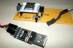 ESP8266, UART,és a programozó panel