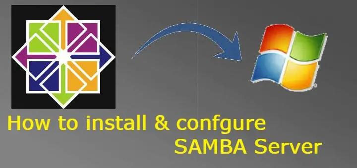 samba server installation