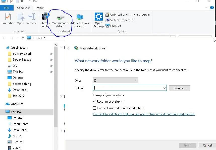 Samba Windows share