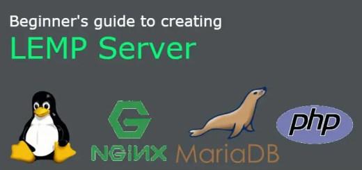 creating LEMP server