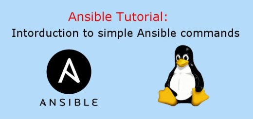 Simple Ansible commands