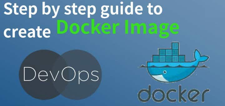 create docker image