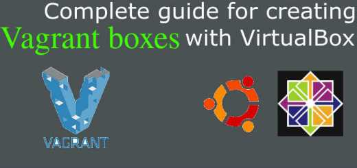 creating vagrant boxex