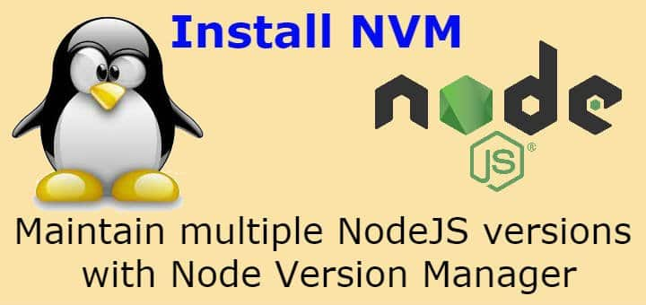 install nvm on linux