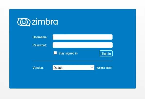 zimbra mail on centos