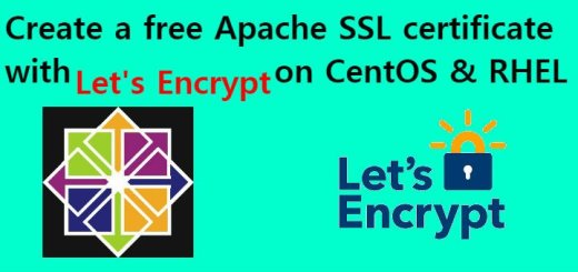 let's encrypt on centos