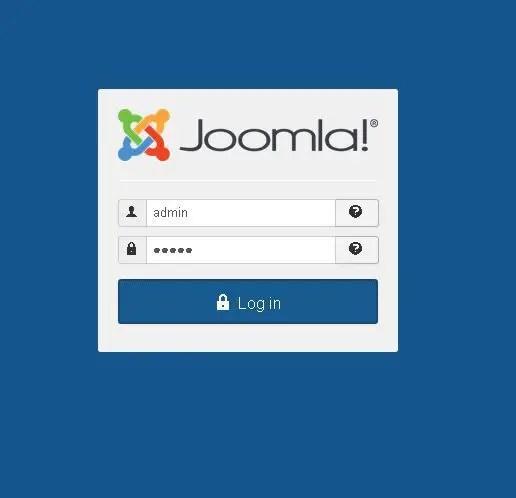 install joomla