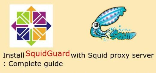 install squidguard