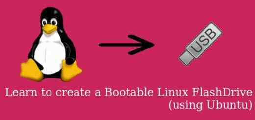 create Bootable Linux Flash Drive
