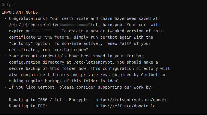 ngnix with let's encrypt