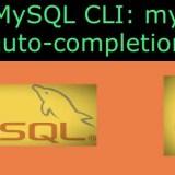 Install MySQL CLI
