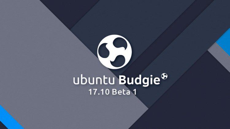 ubuntu budgie 17.10 beta 1