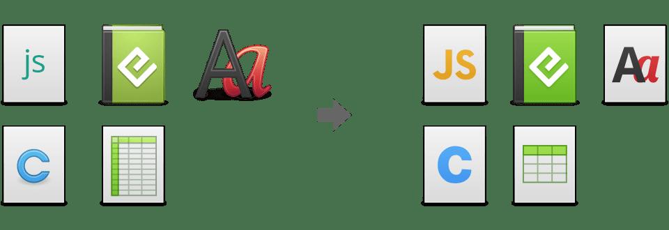 elementary os beta icons