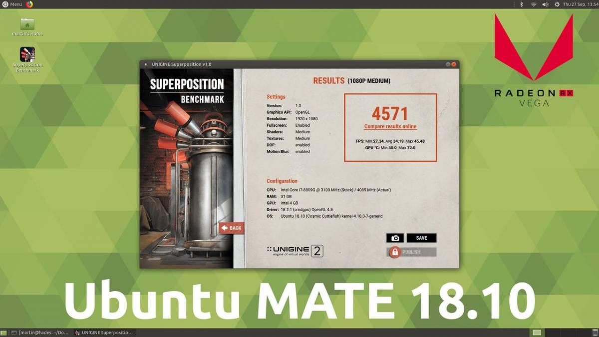 ubuntu mate 18.10
